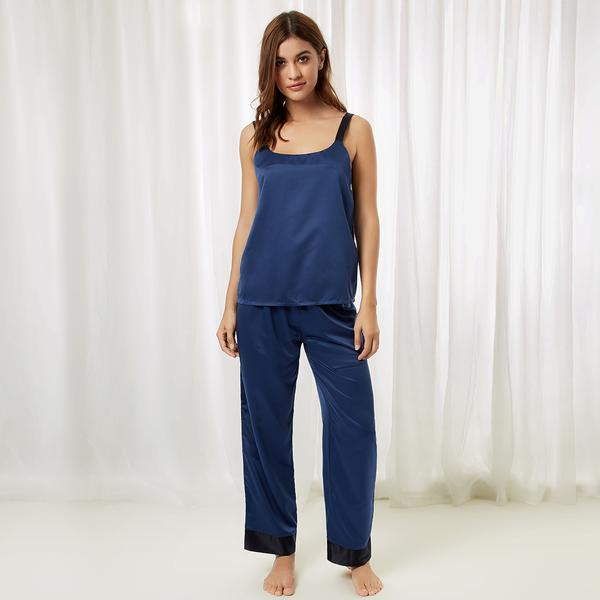 Anna Cami and Trouser Insignia Blue