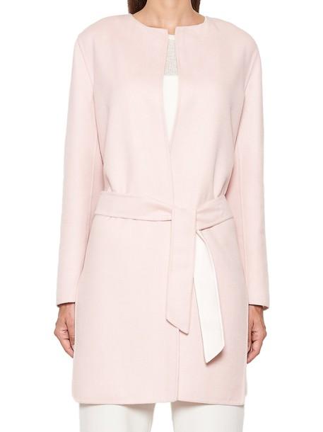 Max Mara coat pink