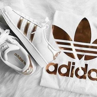 shoes gold adidas adidas adidas shoes white and gold gold gold shoes adidas originals adidas superstars white white shoes