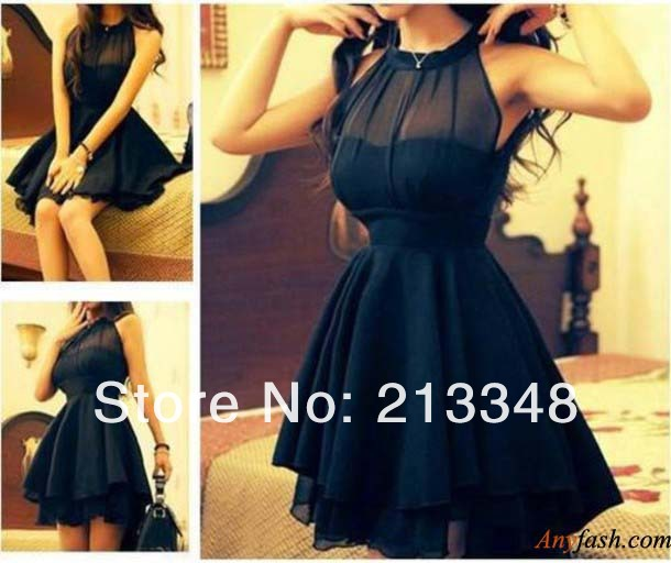 2013 sexy perspective gauze mesh sweet halter neck slim waist slim one piece dress backless dress Free shipping-inDresses from Apparel & Accessories on Aliexpress.com