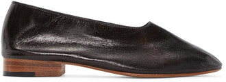 flats leather black black leather shoes
