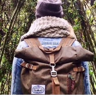 bag boho bohemian backpack rucksack vintage style freedom traveler travel youth mens accessories menswear camping