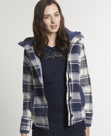 Superdry Highland Hooded Shirt - Women's Shirts