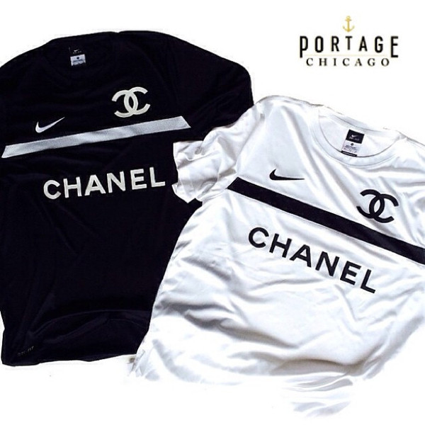 Nike Dry Fit Soccer Jersey With Soft Chanel Graphics