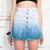Ombre denim skirt - Pop Sick Vintage