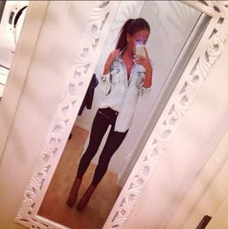 shoes shirt blouse jeans black denim leggings black jeans zips style