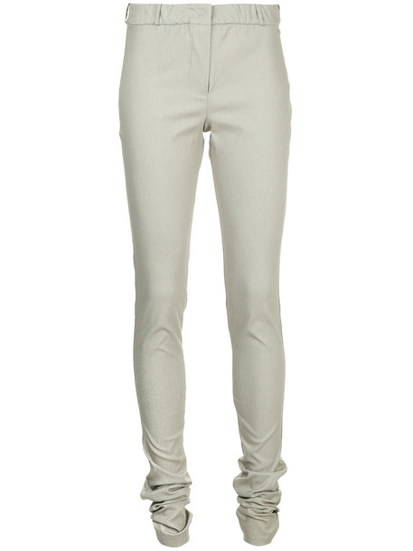 women spandex grey pants