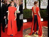 dress,red dress,emma watson,openback