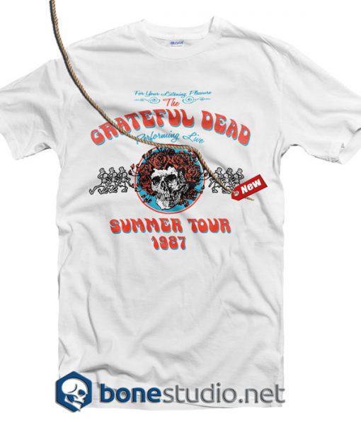 f38f4b90b9fd Grateful Dead Summer Tour 1987 T Shirt - Adult Unisex Size S-3XL