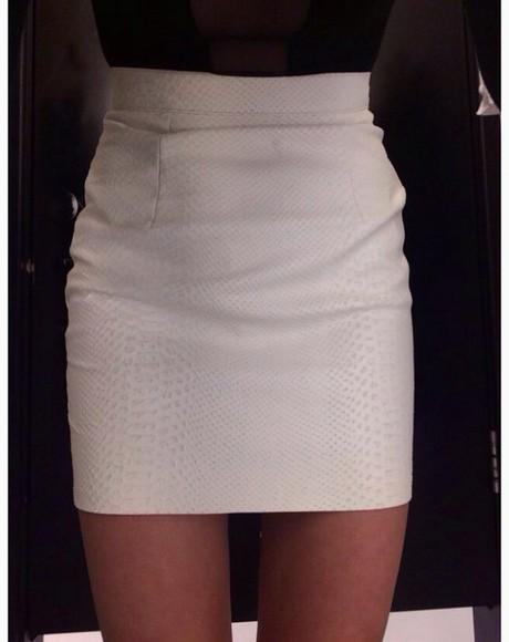 mini skirt snake print