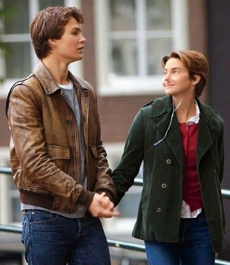 coat green jacket shailene woodley the fault in our stars