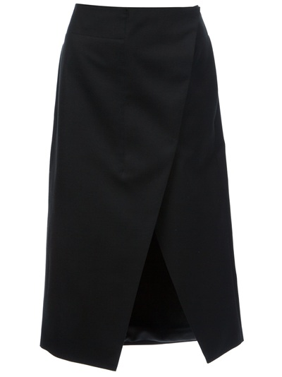 Stella Mccartney 'desiree' Asymmetric Split Skirt -  - Farfetch.com