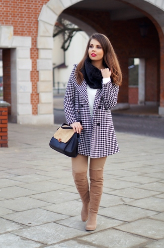 a piece of anna blogger coat bag shoes pants