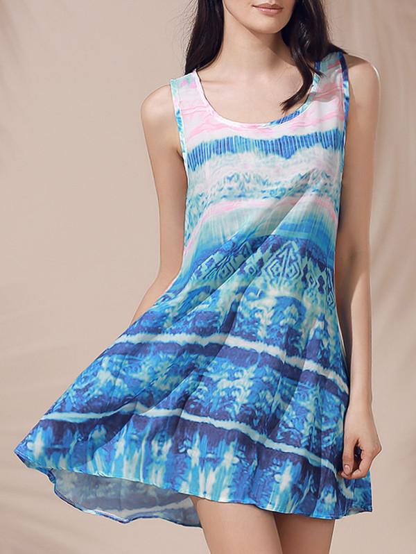 dress dressfo fashion girly trendy style summer sleeveless dress mini dress