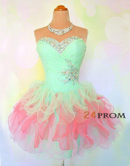 Short Cute Prom Dresses 2015