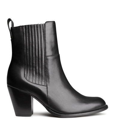 H&m leather boots £30