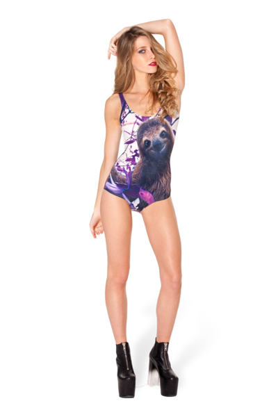 Sloth Swimsuit- LIMITED › Black Milk Clothing