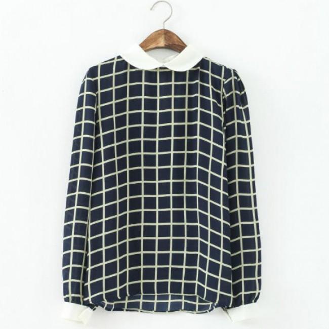Stylish lattice blouse