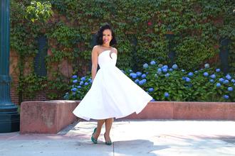 ktr style blogger white dress