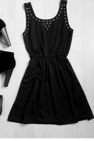 dress little black dress little black dress pearl pearl silver sparkles sparkle