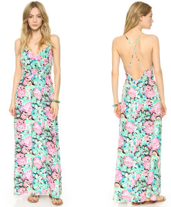 L362 Womens Maxi Sleeveless Low Neckline Backless Casual Full-length Long Dress | Amazing Shoes UK