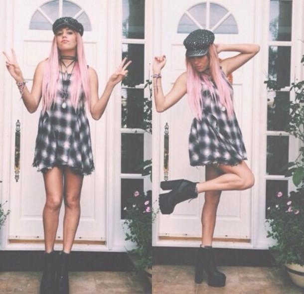 dress hat shoes