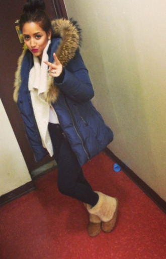 jacket winter faux fur jacket fur collar coat fur collar jacket jacket navy blue women's coats down jacket