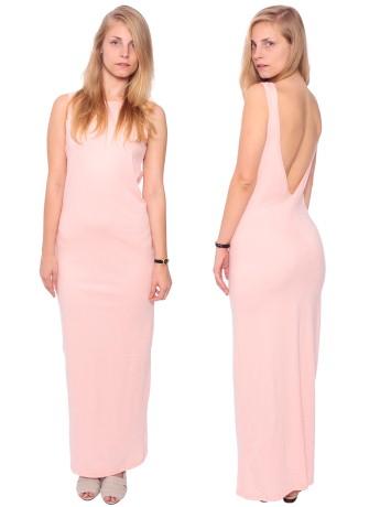 Long Scoop Back Dress   Shop American Apparel