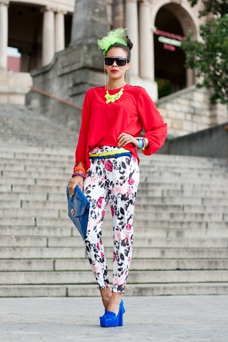 jewels bag blouse shoes sunglasses macademian girl pants belt