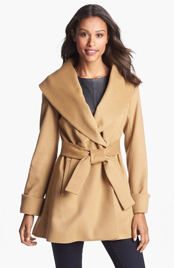 Turk Belted Wrap Coat (Regular & Petite)   Nordstrom