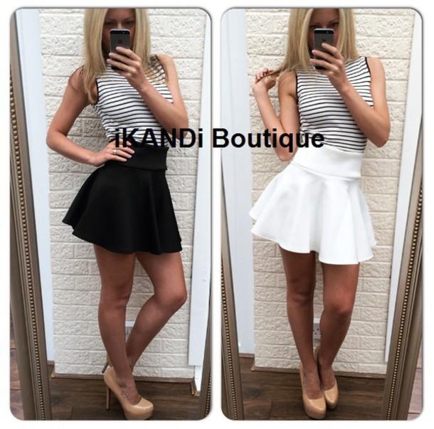 41edfc105b3b skirt black tutu skirt mini skirt black skirt white skirt tutu white tutu  skirt flared skater