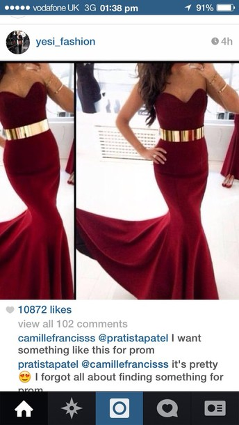 dress belt burgundy dress