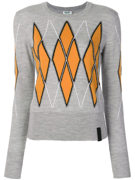 sweater women wool grey