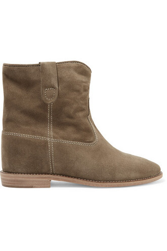 suede ankle boots ankle boots suede brown shoes