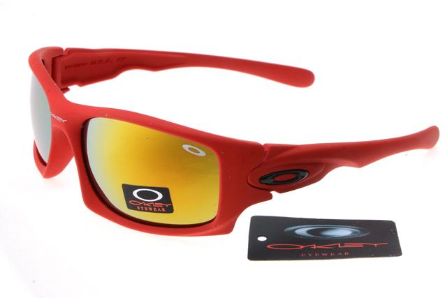 Oakley deringer sunglasses big red frame colorful lens 0211 [ok