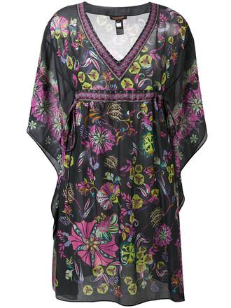 dress sheer women floral cotton print silk