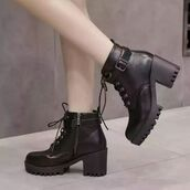 shoes,shanghai trends,chunky boots,aw17,boots,platform shoes,platform boots,cleated sole,grunge