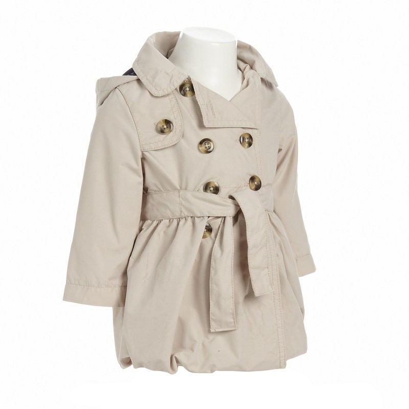 Double breasted Trench Coat 12 24m 381794500 | Burlington Coat Factory