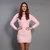 80s ANGORA Sweater DRESS / Pastel Pink Ultra Soft Mini, xs-s