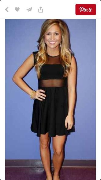 dress black dress mesh dress dress with mesh short dress cocktail dress party dress
