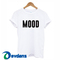 Mood t shirt for women and men size s to 3xl, mood t shirts