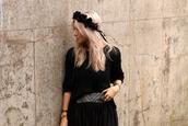 sweater,dark glamour,black,crochet,black crochet,jumper,fashion blogger,knitwear,Pop Couture