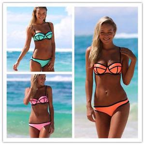 Women's sexy triangle bikini superfly swimsuit bottoms beach swimwear