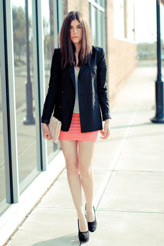 erika blazer black jacket
