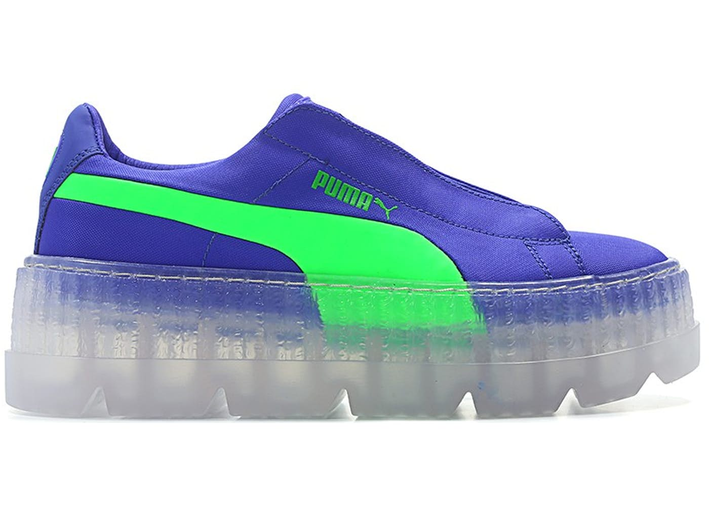 quality design 4f9ae bd248 Puma Cleated Creeper Surf Rihanna Fenty Blue Green (W)
