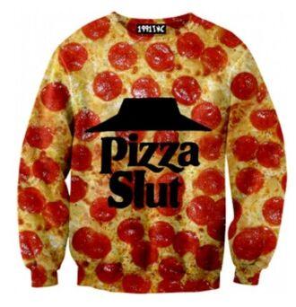 crewneck pizza