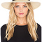 Janessa leone gloria hat in creme from revolve.com