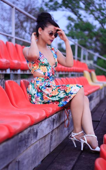 sunglasses blogger make-up zebratrash