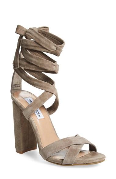 Steve Madden 'Christey' Wraparound Ankle Tie Sandal (Women) | Nordstrom
