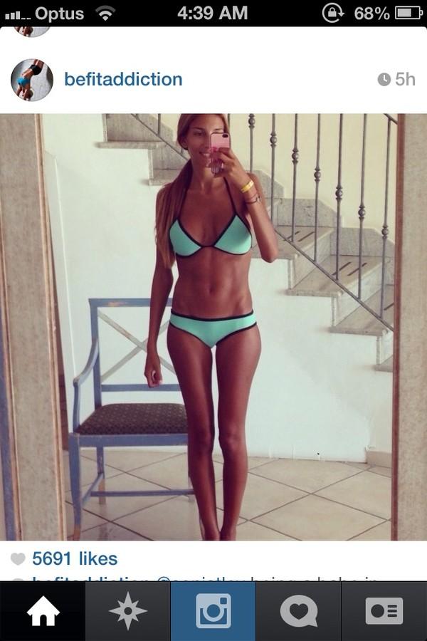 swimwear turquoise